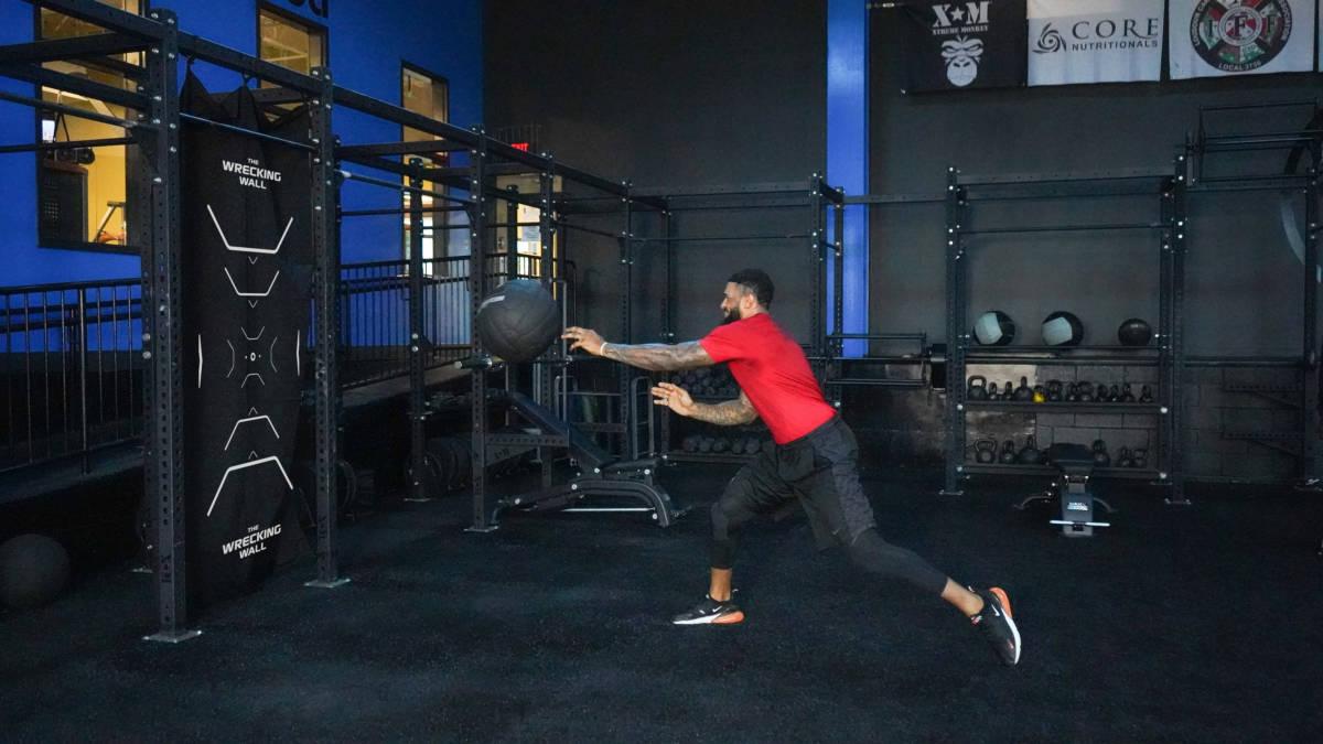 Maxx Strength Indestructible Balls and Wrecking Wall